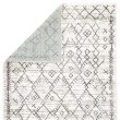 Product Image of White, Light Grey (VAL-04) Moroccan Area Rug