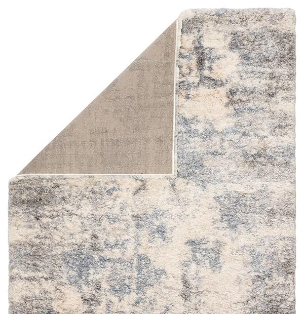 Light Grey, Blue (LYR-03) Shag Area Rug