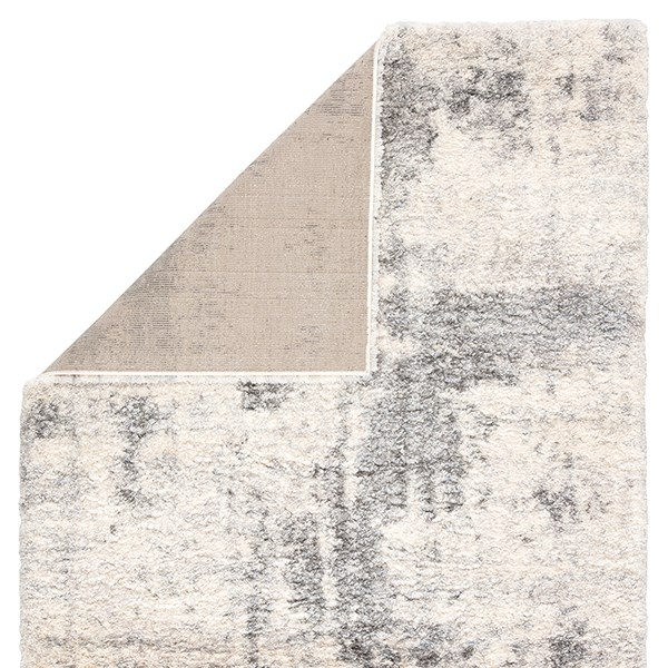 Ivory, Light Grey (LYR-04) Shag Area Rug