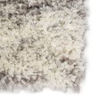 Product Image of Ivory, Light Grey (MKA-03) Shag Area Rug
