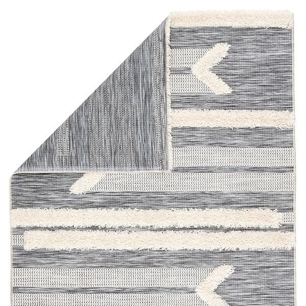 Grey, Cream (PAD-03) Bohemian Area Rug