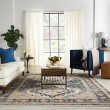 Product Image of Beige, Blue (SAR-02) Traditional / Oriental Area Rug