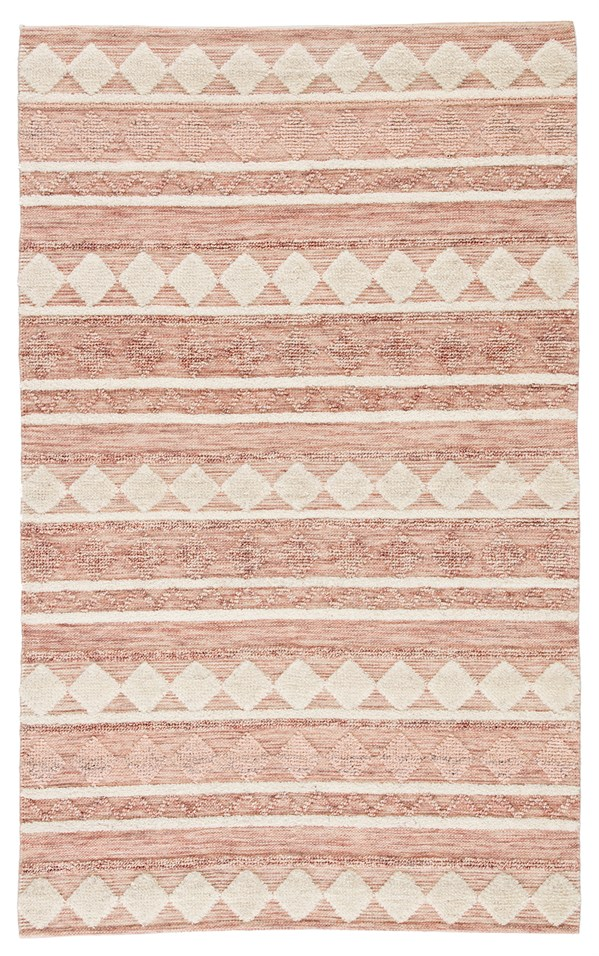 Pink, Ivory (MMB-02) Moroccan Area Rug