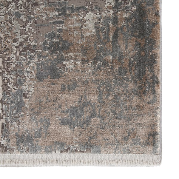 Brown, Grey, Ivory (WRN01) Contemporary / Modern Area Rug
