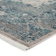 Product Image of Blue, Grey, Ivory (WRN02) Abstract Area Rug