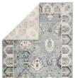 Product Image of Light Blue, Ivory, Grey (BER07) Transitional Area Rug