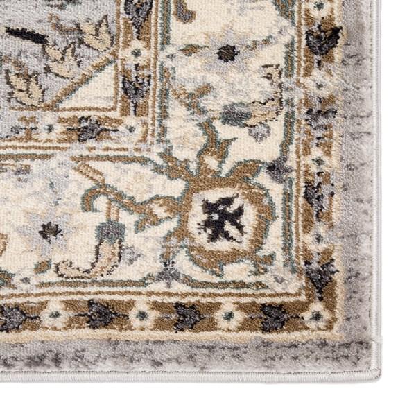 Beige, Grey, Brown (ELY06) Traditional / Oriental Area Rug