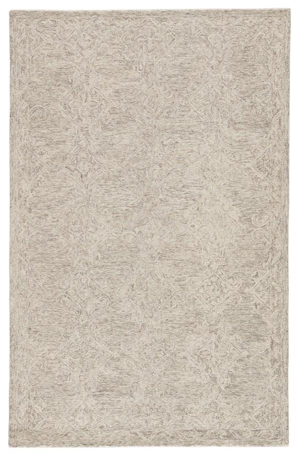 Grey, Beige (PRO05) Transitional Area Rug