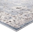 Product Image of Blue, White (SOL01) Transitional Area Rug