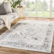 Product Image of White, Grey, Black (SOL02) Transitional Area Rug