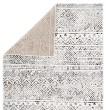 Product Image of Ivory, Grey, Black (SOL04) Geometric Area Rug
