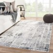 Product Image of White, Grey, Blue (SOL06) Abstract Area Rug