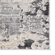 Product Image of Grey, Ivory, Charcoal (VOR01) Abstract Area Rug