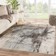 Product Image of Beige, Grey, Brown (VOR02) Abstract Area Rug
