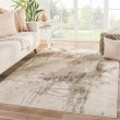 Product Image of Beige, Brown, Taupe (VOR04) Abstract Area Rug