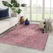 Product Image of Blue, Red (BOH05) Moroccan Area Rug