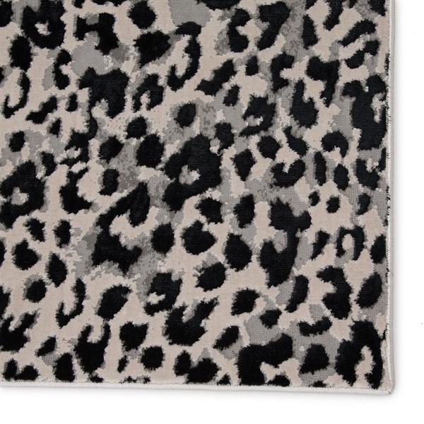 Grey, Black (CTY-07) Animals / Animal Skins Area Rug
