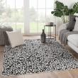 Product Image of Grey, Black (CTY-07) Animals / Animal Skins Area Rug
