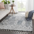 Product Image of Slate, Ivory (VNK-06) Moroccan Area Rug