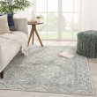 Product Image of Blue, Grey (ALR-01) Transitional Area Rug