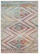 Product Image of Outdoor / Indoor Grey, Ivory, Turquoise (RHN-09) Area Rug