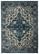 Product Image of Vintage / Overdyed Blue, Light Taupe (BNN-06) Area Rug
