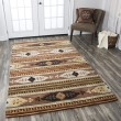 Product Image of Rust, Ivory, Brown Southwestern / Lodge Area Rug