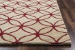 Product Image of Beige, Red Transitional Area Rug