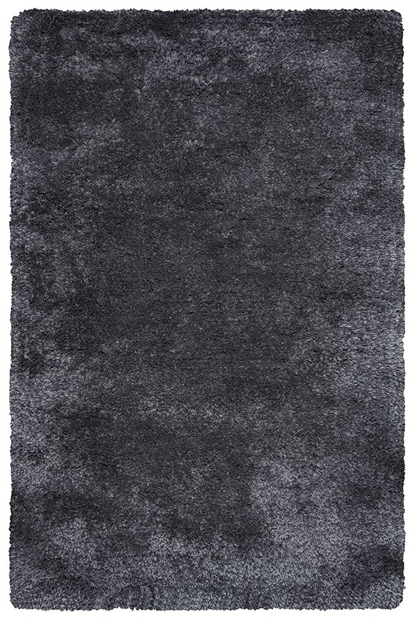 Charcoal, Brown (CO-8368) Shag Area Rug