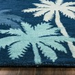 Product Image of Navy, Blue, Green Beach / Nautical Area Rug