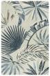 Product Image of Khaki, Blue, Off White Floral / Botanical Area Rug