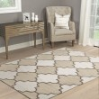 Product Image of Ivory, Tan Moroccan Area Rug