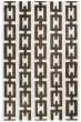 Product Image of Off White, Brown Contemporary / Modern Area Rug