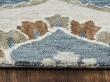 Product Image of Blue, Ivory, Mocha Transitional Area Rug