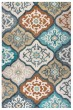 Product Image of Ivory, Gray, Paprika Moroccan Area Rug
