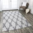 Product Image of Light Grey, Dark Grey, Ivory Moroccan Area Rug