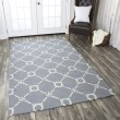 Product Image of Light Blue, Off White Transitional Area Rug