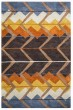 Product Image of Blue, Off White, Gold, Rust Southwestern / Lodge Area Rug