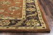 Product Image of Rust, Burgundy, Black, Tan Traditional / Oriental Area Rug