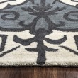 Product Image of Blue, Dark Gray, Light Gray Moroccan Area Rug