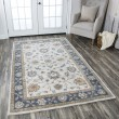 Product Image of Taupe, Blue, Khaki Traditional / Oriental Area Rug