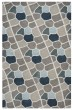 Product Image of Gray, Blue, Navy, Tan Contemporary / Modern Area Rug
