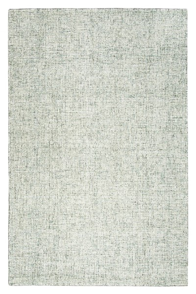 Green, Ivory Casual Area Rug