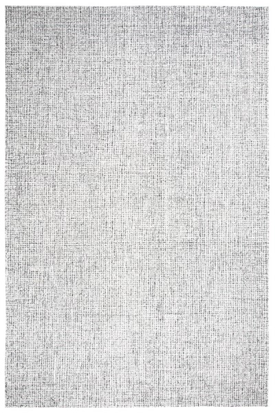 Gray, Ivory Casual Area Rug