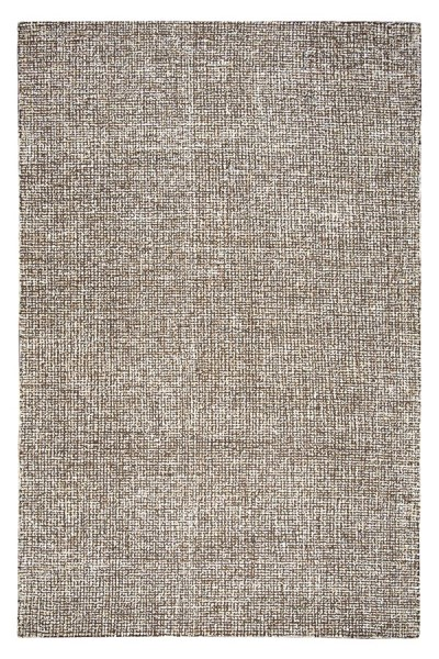 Brown, Ivory Casual Area Rug