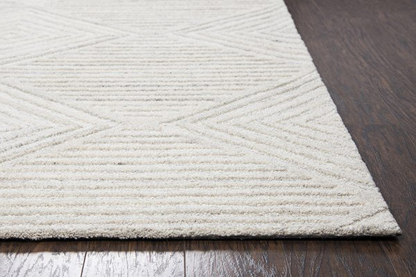 Ivory, Natural Transitional Area Rug