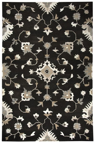 Brown, Natural Traditional / Oriental Area Rug