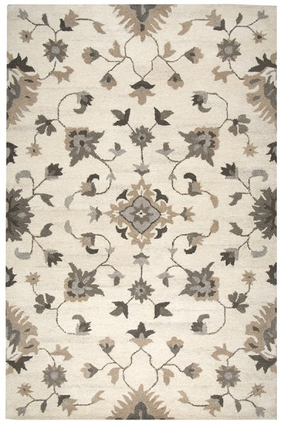 Beige, Natural Traditional / Oriental Area Rug