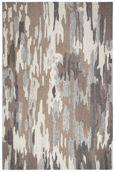 Brown, Natural Transitional Area Rug