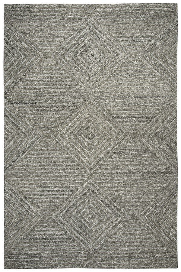 Gray, Natural Transitional Area Rug